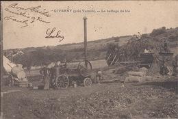 Giverny-le Battage Du Blé - Otros Municipios