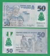 NIGERIA - 50 NAIRA - 2011 – POLYMER - UNC - Nigeria