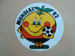 AUTOCOLLANT MUNDIAL 82 - Stickers