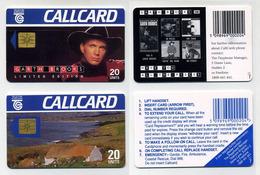 Lot De 2 Cartes à Puces Téléphoniques Irlandaises (Dublin). Phonecards Schede Cartela Callcards 20 Units. Eire Ireland - Irlande