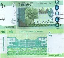 Sudan North - 10 Pounds 2017 UNC Lemberg-Zp - Soedan