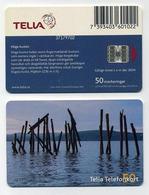 Carte à Puce Téléphonique Suède Sweden Sverige. Phonecard Scheda Cartela Callcard. 50 Markeringar. TELIA Telefonkort - Schweden