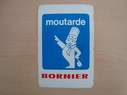 AUTOCOLLANT MOUTARDE BORNIER - Stickers