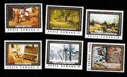 ROMANIA 1177, 1987, PAINTINGS, ART REPRODUCTIONS, PEINTURES, REPRODUCTIONS D'ART - 1948-.... Repúblicas