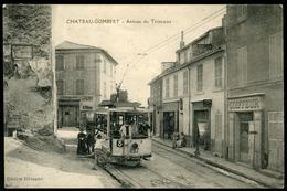 CHATEAU GOMBERT Très Beau Plan De L'arrivée Du Tramway. Edition Bistagne - Andere Gemeenten