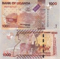 Uganda - 1000 Shillings 2010 UNC Pick 49a Lemberg-Zp - Uganda