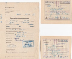 Rückfahrkarten - Fahrgelderstattungsantrag - Europa