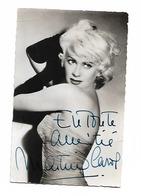 Actor Martine CAROL Original Signature - Acteurs