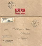 """R Brief  """"Sekula, Luzern"""" - Effretikon            1927 - Lettres & Documents"""