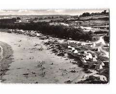 29 Locquirec La Grande Plage Et Le Terrain De Camping CPSM GF Cachet Locquirec 1961 - Locquirec