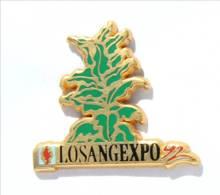 Pin's LOSANGEXPO 92 - Plant De Tabac - Exposition Destinée Aux Buralistes - Zamac - Arthus Bertrand - I572 - Arthus Bertrand