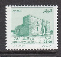 2015 Algeria Algerie Bordj El Kifan Definitive  Complete Set Of 1 MNH - Algérie (1962-...)