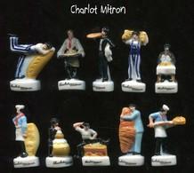 Serie Complete De 10 Feves Charlot Mitron - Dessins Animés