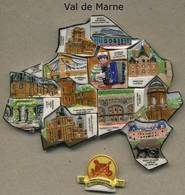 Serie Complete De 13 Feves Val De Marne - Regiones
