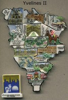 Serie Complete De 13 Feves Yvelines II - Regiones