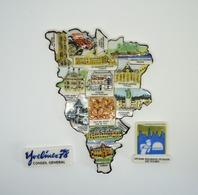 Serie Complete De 14 Feves Les Yvelines - Région