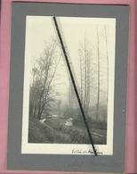 Photo Collée Sur Carton :  Vallée De Kerlouan - Kerlouan