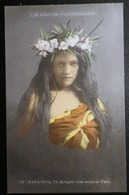 Tahiti Postcard. 12. Marainoa. Ile Maupiti. (Iles-sous-le-vent)  Les Beauties Polyneisiennes - Tahiti