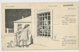 """298 -  Un Incurable - Enfants - Prisonnier """" Critica Séries N°750 - Illustrateurs & Photographes"""
