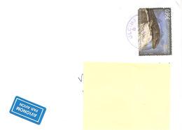 MONTENEGRO - 2019 Lettera Prioritaria Per L'estero Posta Aerea Con Francobollo Isolato - 1948-.... Républiques