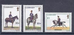 190031944  GUERNSEY  YVERT  Nº  113/5  **/MNH - Guernsey