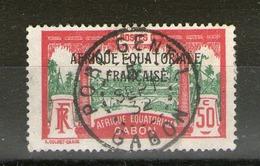 """N° 103°_centre Vert Déplacé_""""Port-Gentil""""_5/09/22 - Gabon (1886-1936)"""