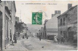 LAVAVEIX-les-MINES : Rue Du Centre - Francia