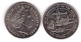 Guernsey - 5 Pounds 1998 UNC Commemorative Lemberg-Zp - Guernesey