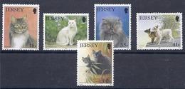 190031953  JERSEY  YVERT  Nº  639/43  **/MNH - Jersey