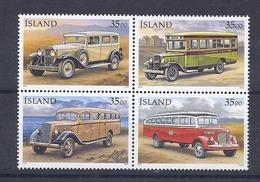 190031958  ISLANDIA  YVERT  Nº  803/6  **/MNH - 1944-... República
