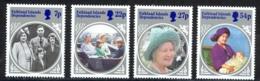 Falkland Islands Dependencies Sc# 1L92-1L95 MNH 1985 Queen Mother 85th Birthday - Falkland Islands