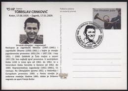 Croatia Zagreb 2019 / Olympic Games Helsinki 1952 / 90 Y. Of Birth Tomislav Crnkovic, CRO Football Legend / Silver Medal - Ete 1952: Helsinki