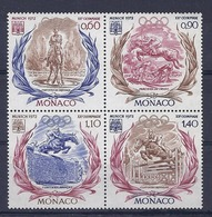 190031960  MONACO  YVERT  Nº  890/3  **/MNH - Mónaco