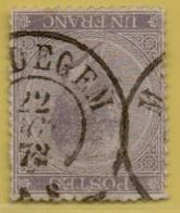+MW-4469    MALDEGEM     Dubbel    Cirkel      OCB  21 - 1865-1866 Profiel Links
