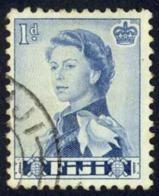 Fiji Sc# 176 Used 1962-1967 1p QEII Definitives - Fidschi-Inseln (...-1970)