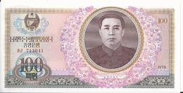 Corea/Korea Del Nord - 100 Won 1978 - P.22a - UNC - Corea Del Nord