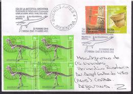 Argentina - 2017 - Dinosaures De L'Antarctique - Plésiosaure - Fossiles - Carnotaurus Sastrei - Argentinien