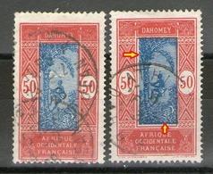 2 N° 74°_nuance Et Centre Déplacé - Dahomey (1899-1944)