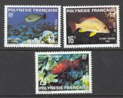 French Polynesia Sc# 341-343 MNH 1981 13fr-24fr Karaua, Toau, Tonu - French Polynesia