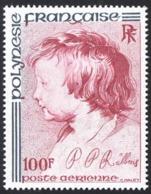 French Polynesia Sc# C153 MNH 1977 100fr Rubens' Son Albert - Französisch-Polynesien