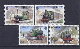 190031970  JERSEY  YVERT  Nº  349/53  **/MNH  (EXCEPT  Nº  353) - Jersey