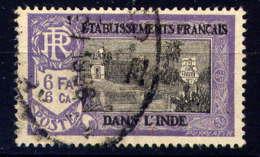 INDE - 100° - TEMPLE PRES DE PONDICHERY - India (1892-1954)