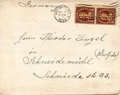 USA. N°231 De 1922-25 Sur Enveloppe Ayant Circulé. M. Washington. - George Washington