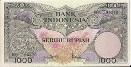 Indonesia - 1000 Rupie 1959 - P.71b - AUNC - Indonesien