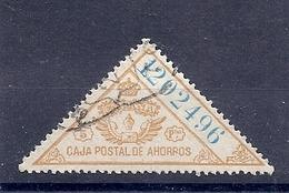 190031980  ESPAÑA  EDIFIL  POLIZA  Nº  5 - Fiscales
