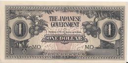Malesia/Malaysia - British Malaya - The Japanese Government - 1 $ Dollar 1942 - P.M5c - UNC - Malaysia