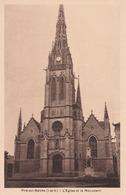 Piré Sur Seiche L église Et Le Monument éditeur école Des Missions Coloniales - Autres Communes