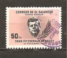 El Salvador  Yvert  696  (usado) (o) - El Salvador