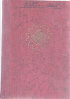 AK-div.26- 136 - Mitgliedsbuch --Deutsche Arbeitsfront - Historical Documents