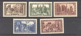 Sarre  :  Yv  278-82  * - 1947-56 Protectorate
